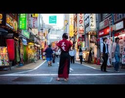 Shinjuku by burningmonk