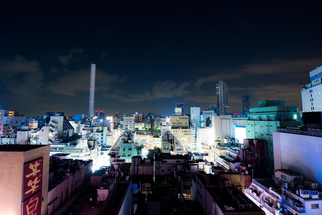 The Night by burningmonk