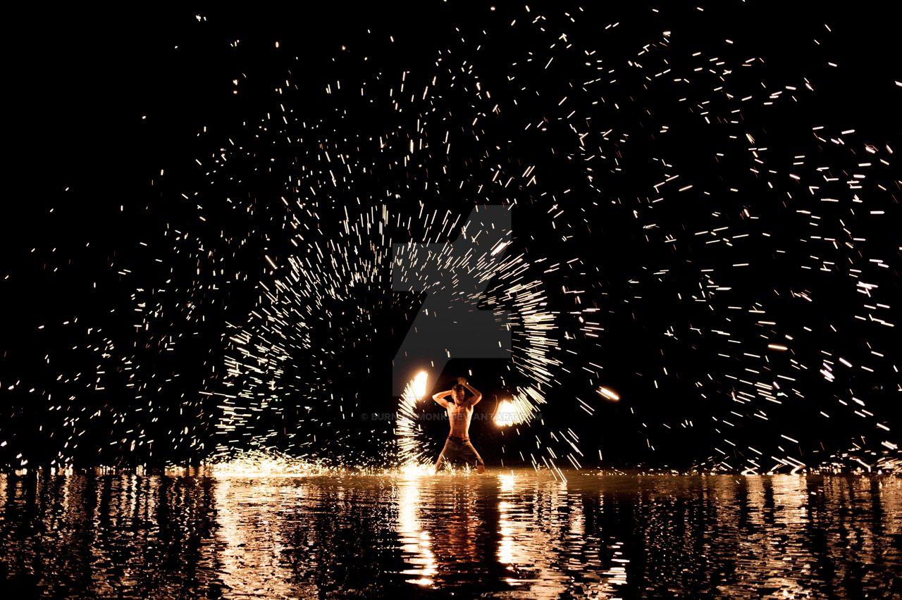 Fire Dancer by burningmonk