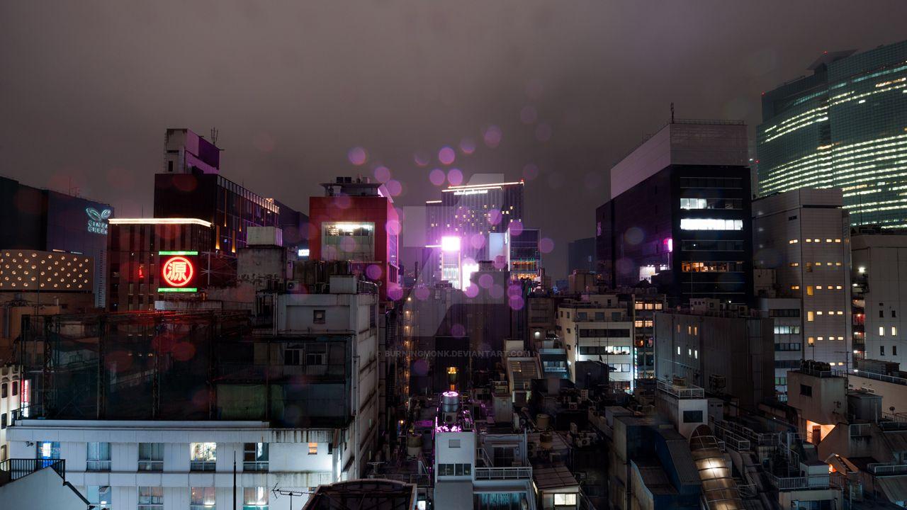 Purple Rain by burningmonk