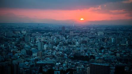 Blue City by burningmonk