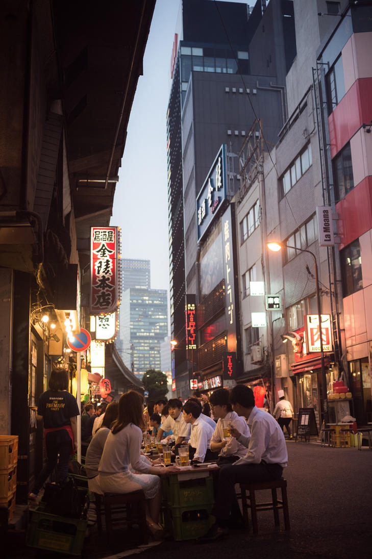 Downtown by burningmonk