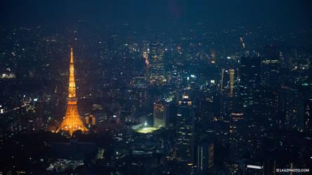 Toyko Tower by burningmonk