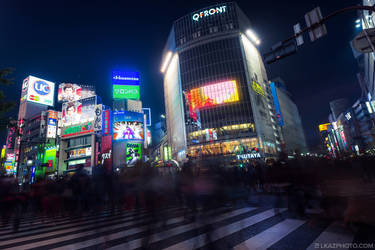 Shibuya Crossing by burningmonk