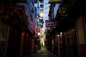 Tokyo Back Alley by burningmonk