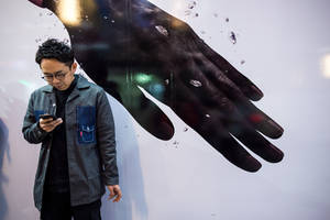 Hand by burningmonk