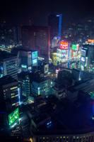 Neon Haze by burningmonk