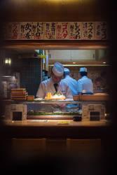 Sushi Chef by burningmonk