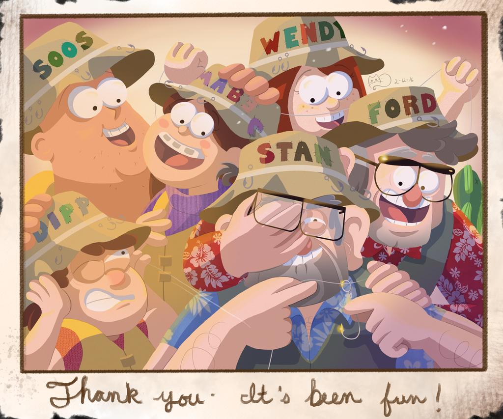 Thank You Gravity Falls! by MayakaEd