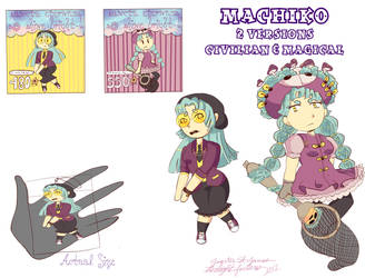 Sancta Eternum Rubber Strap Series pt 1: Machiko by twilightfortune