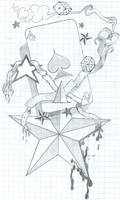 Stars Spades and banners by BRAINdamnage