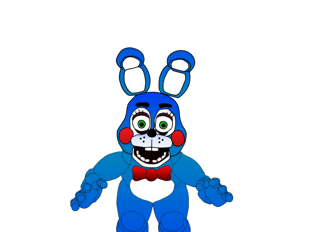 Toy Bonnie Five Nights At Freddy S 2 Colorido By Kratoscheky On