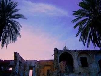 ruins of Armenian Church by aliemraharp