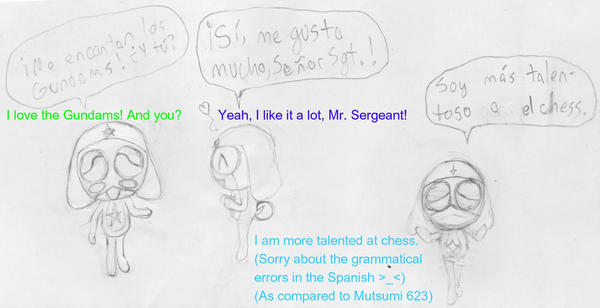 keroro scrap in spanish by KatamaDama
