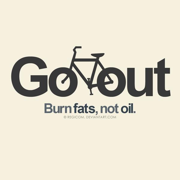 Go out, burn fats by JereekEspiritu