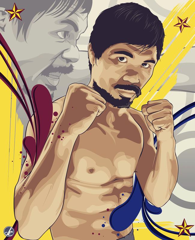 The Rage of Pacman by JereekEspiritu