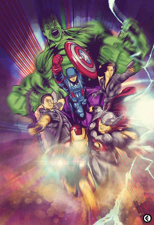 Avengers Assemble by JereekEspiritu