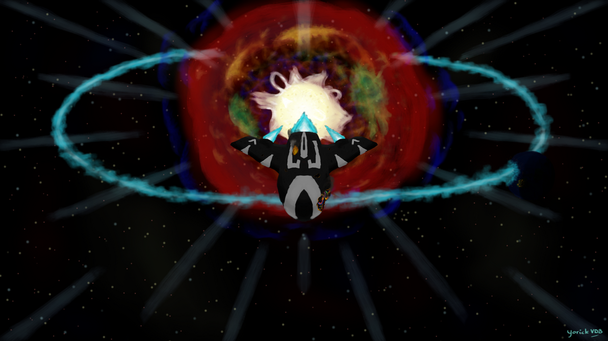 Supernova Escape by YorickVDB