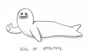 Seal of approval by YorickVDB