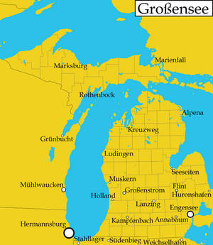 Michigan as illustrated in New Germany