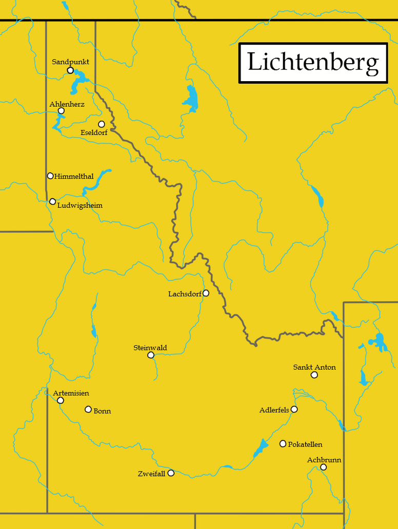 Idaho as illustrated in New Germany by PureTassel