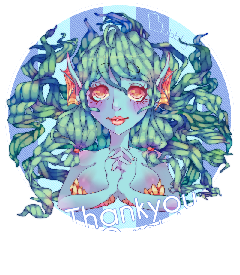Thankyou 700 watchers!!! by BubblyBlu