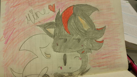 shadow and sonic chibi cute