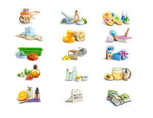 Icons for the creators of soap