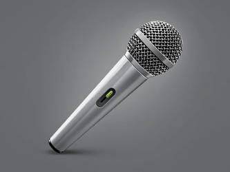 Microphone icon by Vlademareous