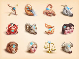 Astrology icons