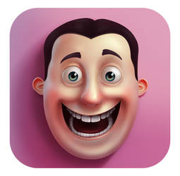 Emoji And Sticker Studio App icon by Vlademareous
