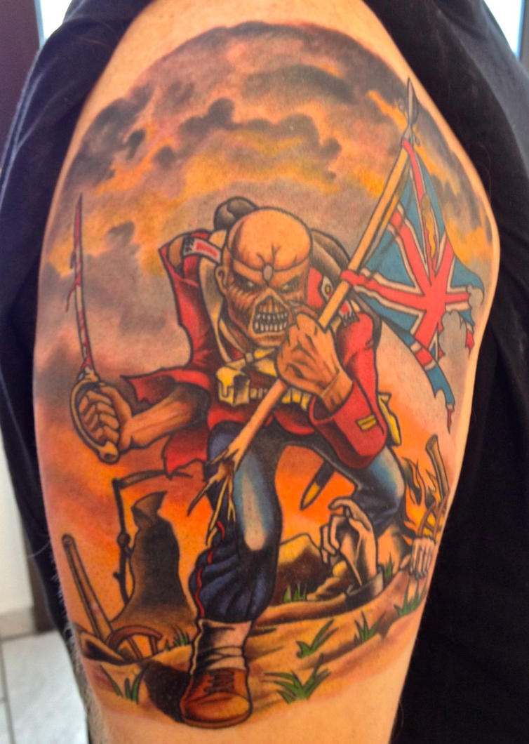 Iron Maiden The Trooper By Christiansocha On Deviantart