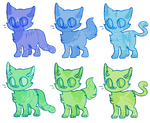 shaded cats open