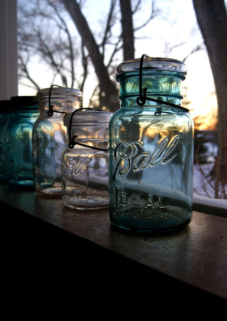 Mason Jars by RollingFishays