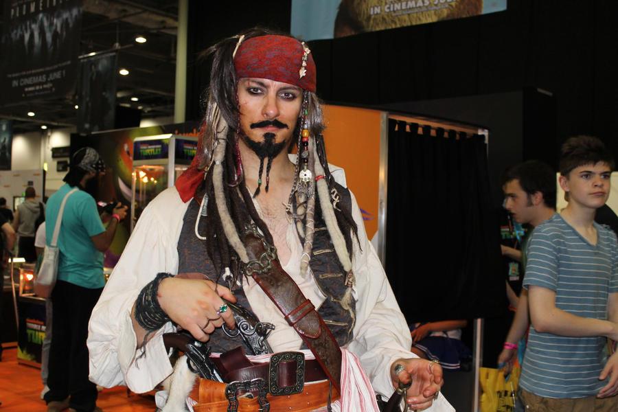 Jack Sparrow by StoppableUnforce