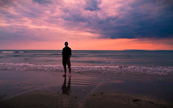 coastal sunset id by adamlack