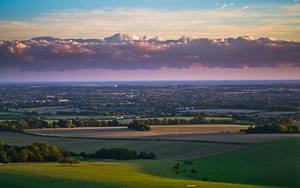Cloud over Chichester by adamlack