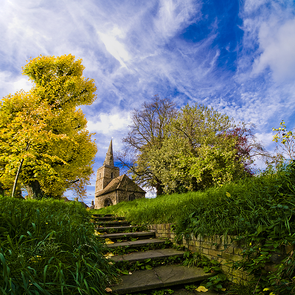 A Little Church in Cambridge by adamlack