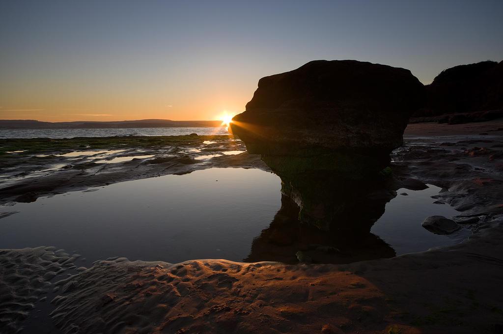 Evening on the rocks by adamlack