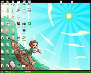 Desktop Run Run Run by chibiki
