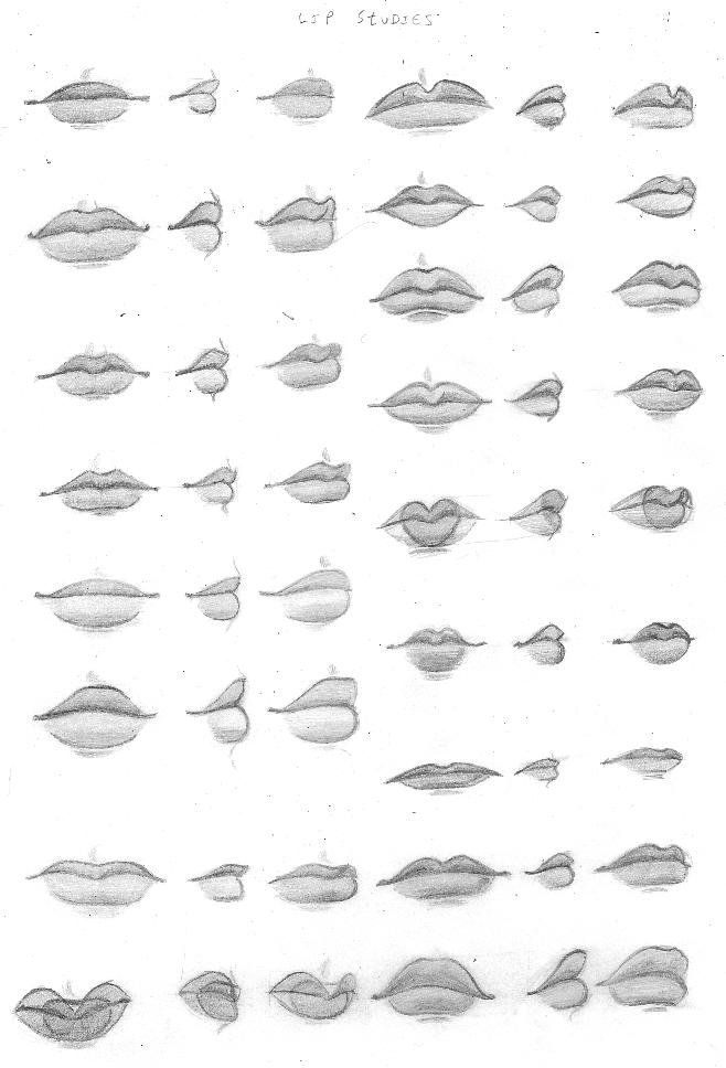 Lips By Chibiki On Deviantart
