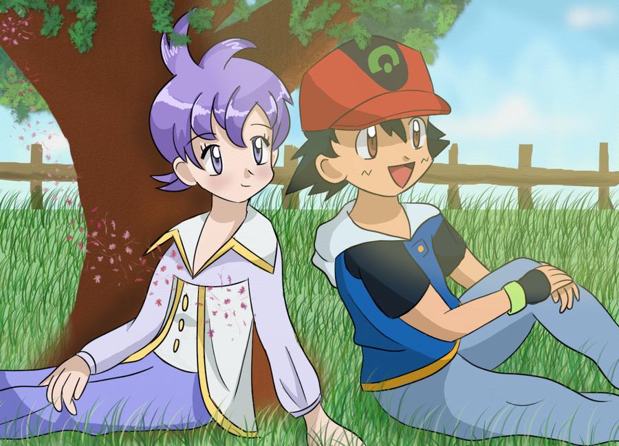 Pokemon SatoLila by FloisonKeya