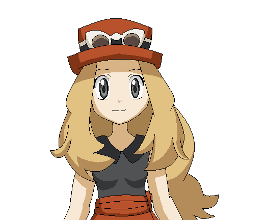 Gen 6 girl in MSPaint by FloisonKeya