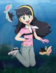 PC - Teruko swimming