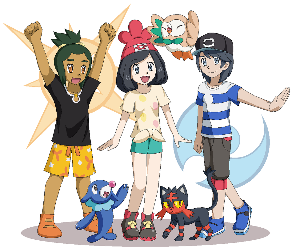 Pokemon Gen 6 Anime Characters : Pokemon generation by floisonkeya on deviantart