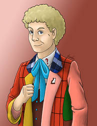 Sixth Doctor by Sherlockian