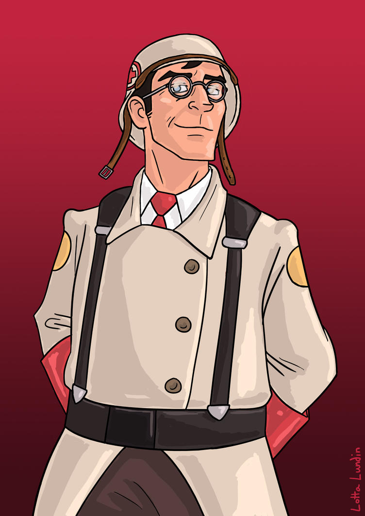 Medic Tf2 by Sherlockian
