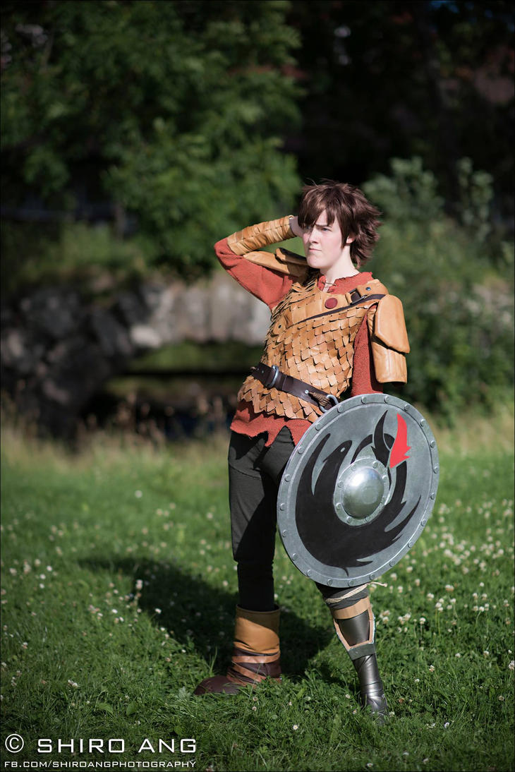 Hiccup Race to the edge cosplay by Sherlockian