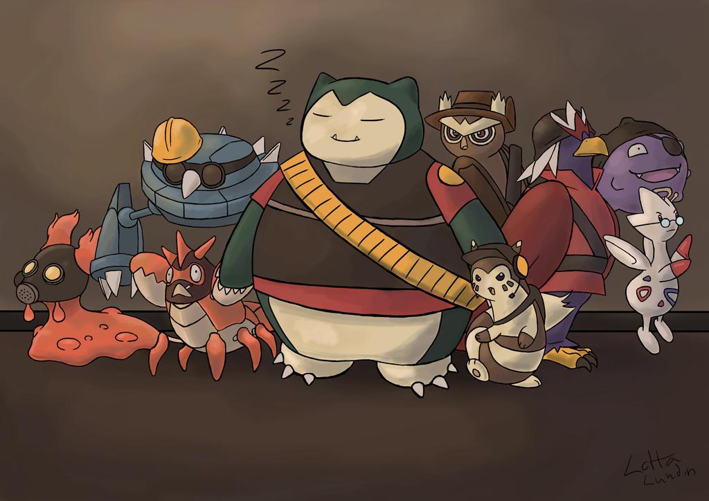Team Pokemon by Sherlockian