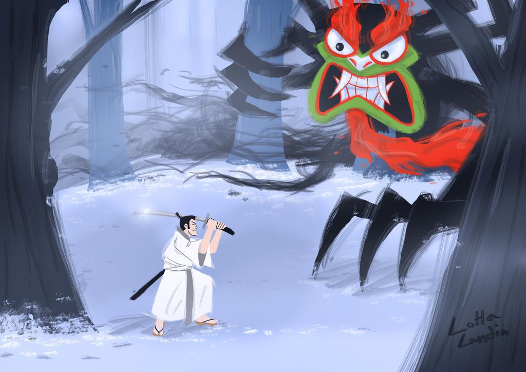 Samurai jack by Sherlockian